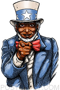 'Uncle Sam' sticker