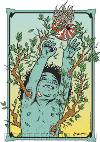 'Nature Child' sticker