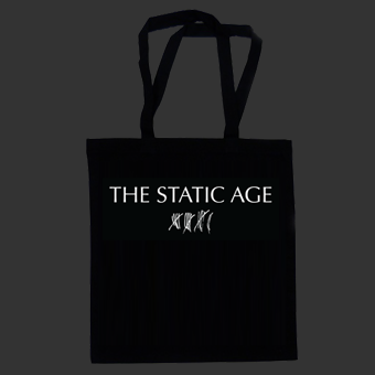 The Static Age - Scratches Logo - Tote Bag