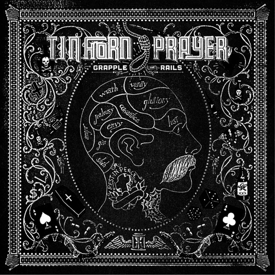 Tin Horn Prayer - Grapple The Rails (Vinyl, MP3, FLAC)