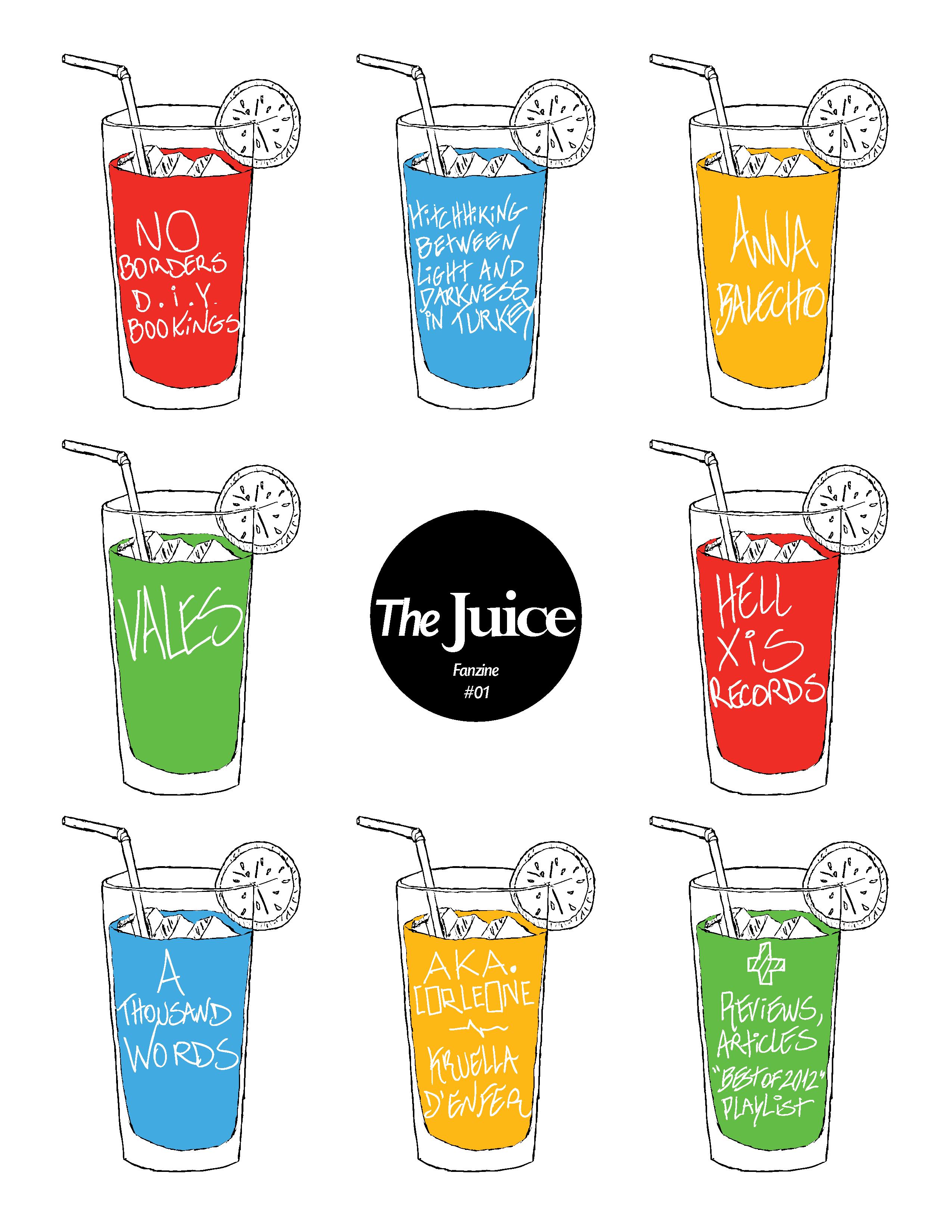 THE JUICE Fanzine #01
