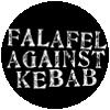 Guerilla Asso - badge falafel