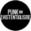 Guerilla Asso - badge existentialisme