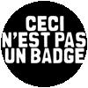 Guerilla Asso - badge pas un badge
