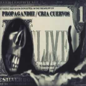 Propagandhi + Cria Cuervos - split live