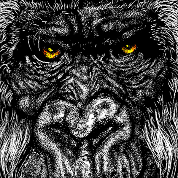 Custom Artist Record Toppers (Gorilla)