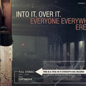 Into It. Over It. / Everyone Everywhere - Split EP