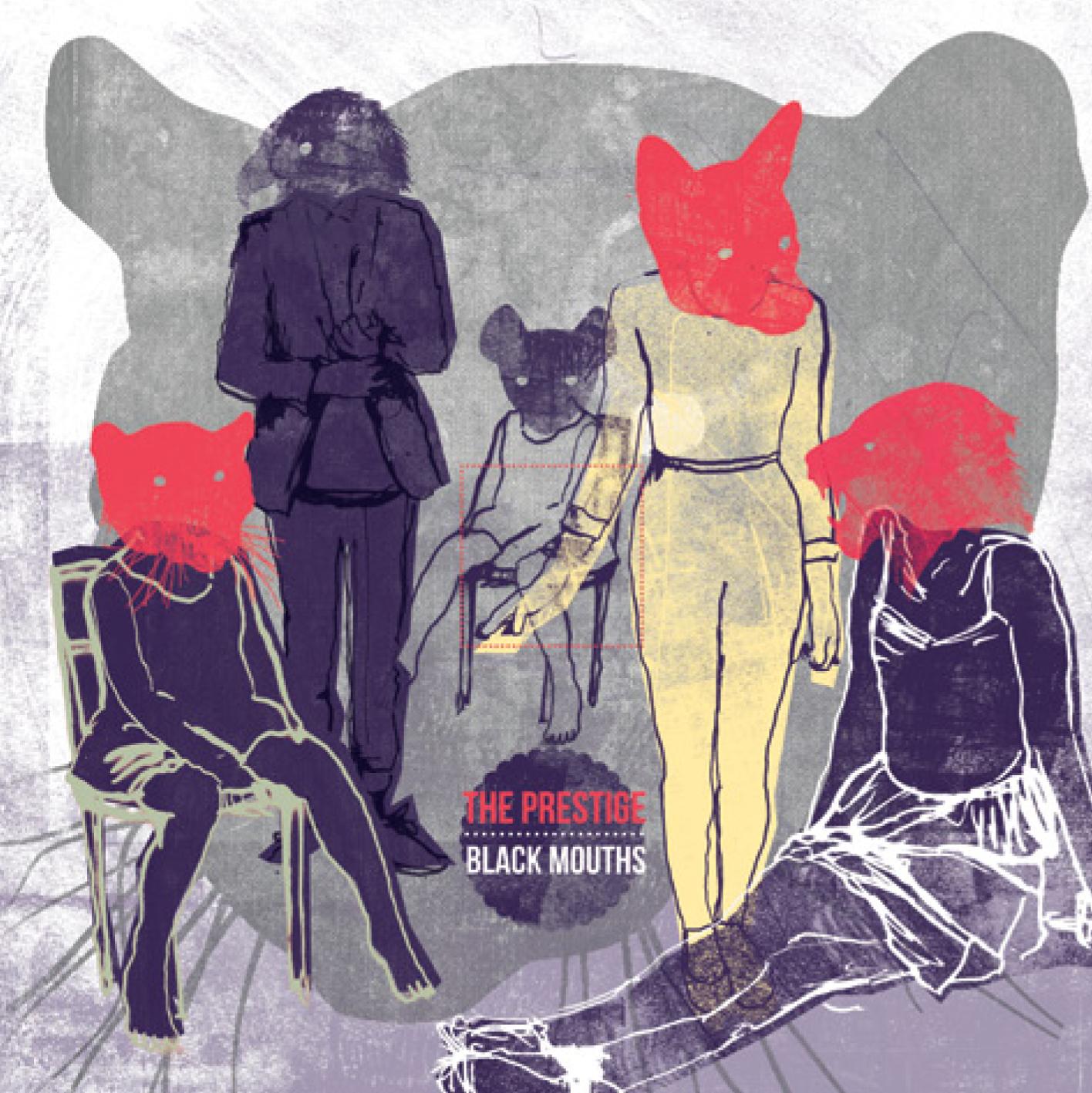 THE PRESTIGE Black mouths LP + CD