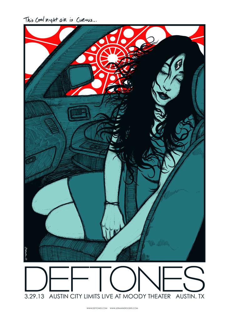 DEFTONES (Austin) 2013 Artist Proofs