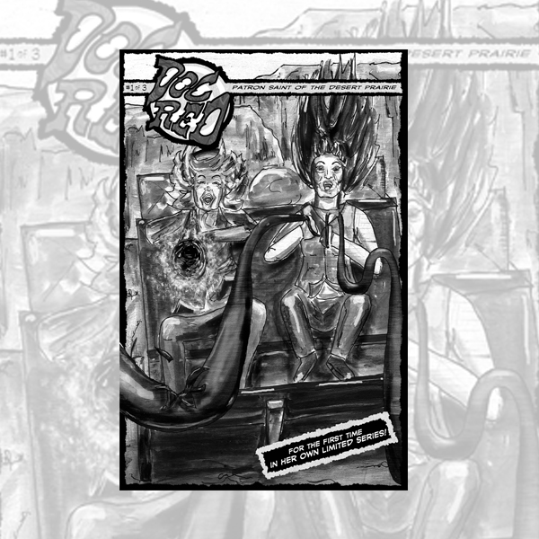 DOC RED #1 - Frank E. Cunniff & Sarah M. Cunniff (Digital Graphic Novel)