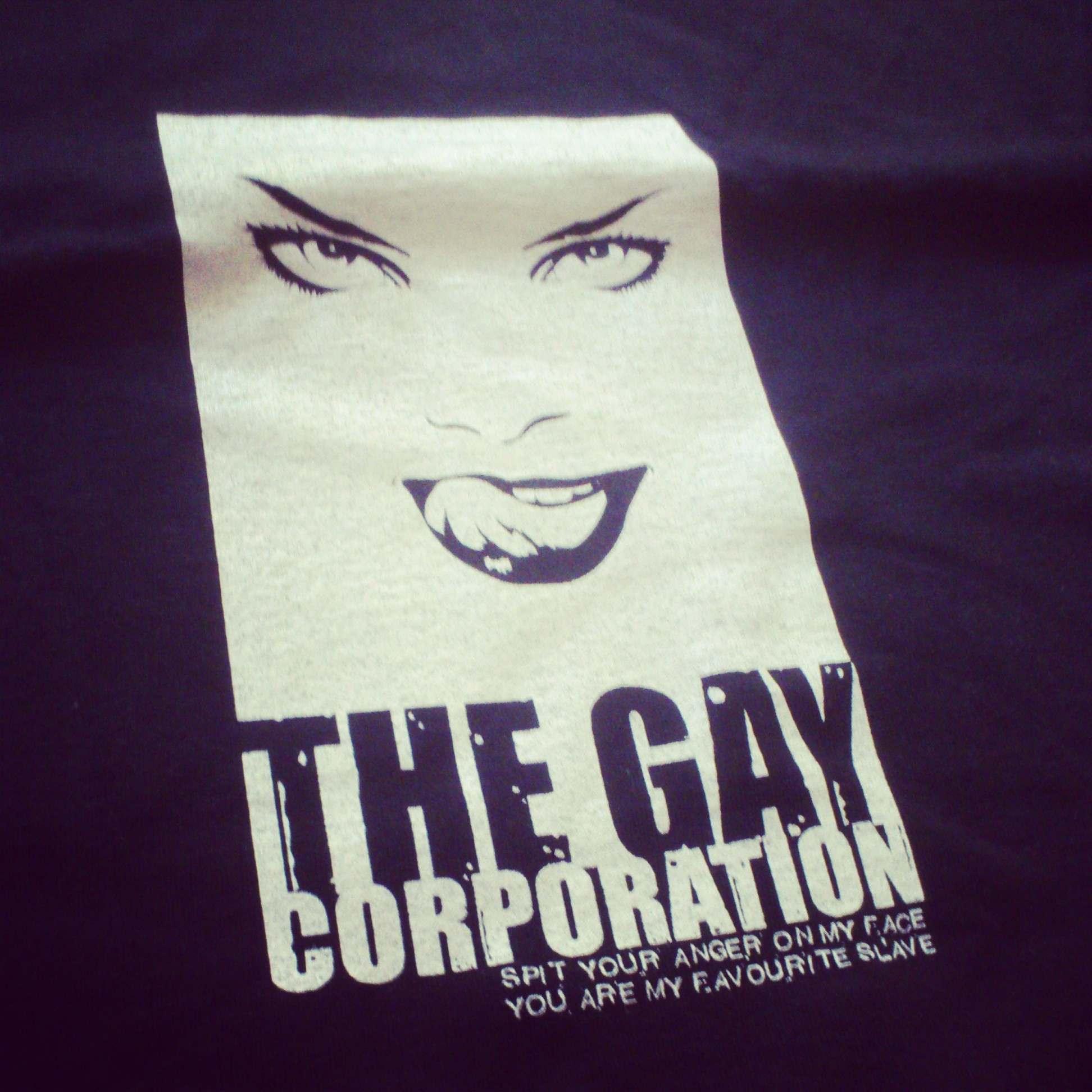 THE GAY CORPORATION Spit your anger on my face you are my favorite slave TS