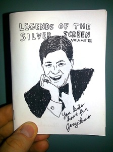 LEGENDS OF THE SILVER SCREEN Vol. 3 zine by Owen Ashworth