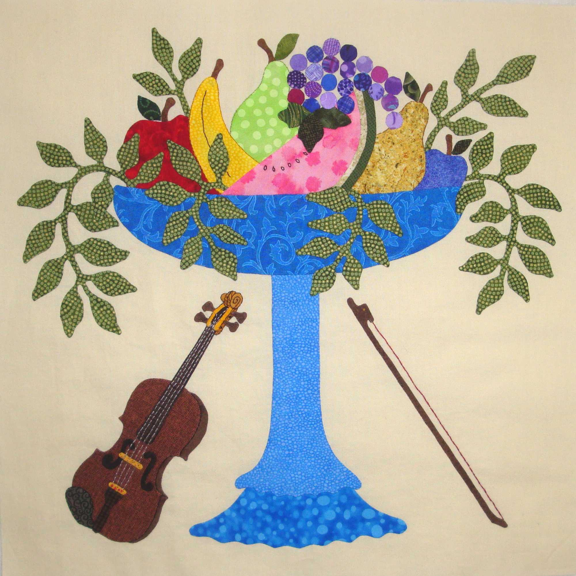 Fabric Therapy Online Fruit Compote Violin Music