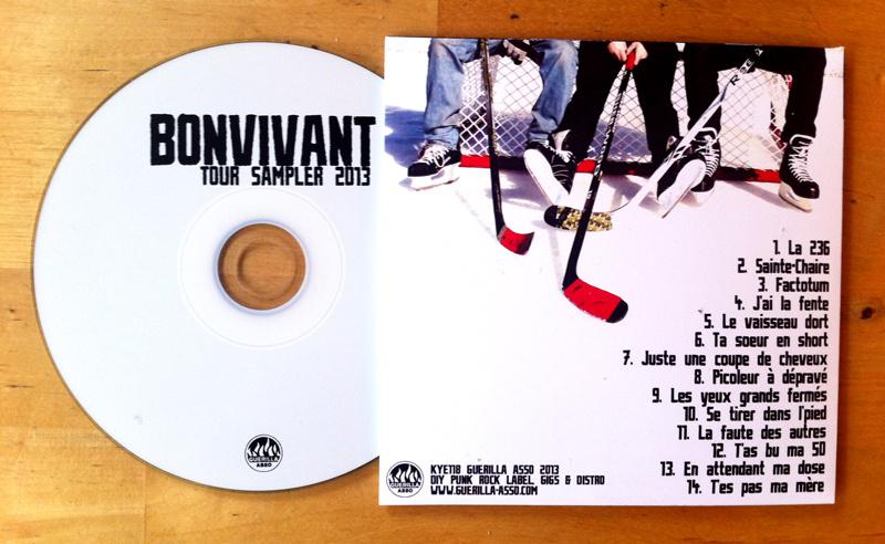 Bonvivant - tour sampler 2013