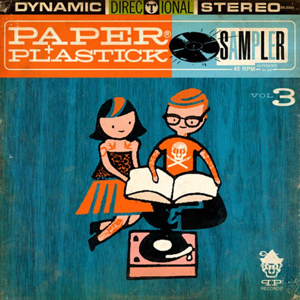 Paper + Plastick 2013 Summer Sampler!!