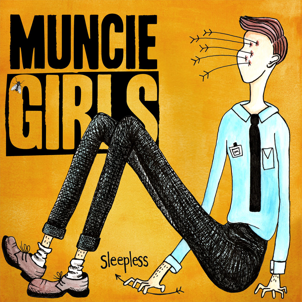 Muncie Girls - Sleepless EP CD