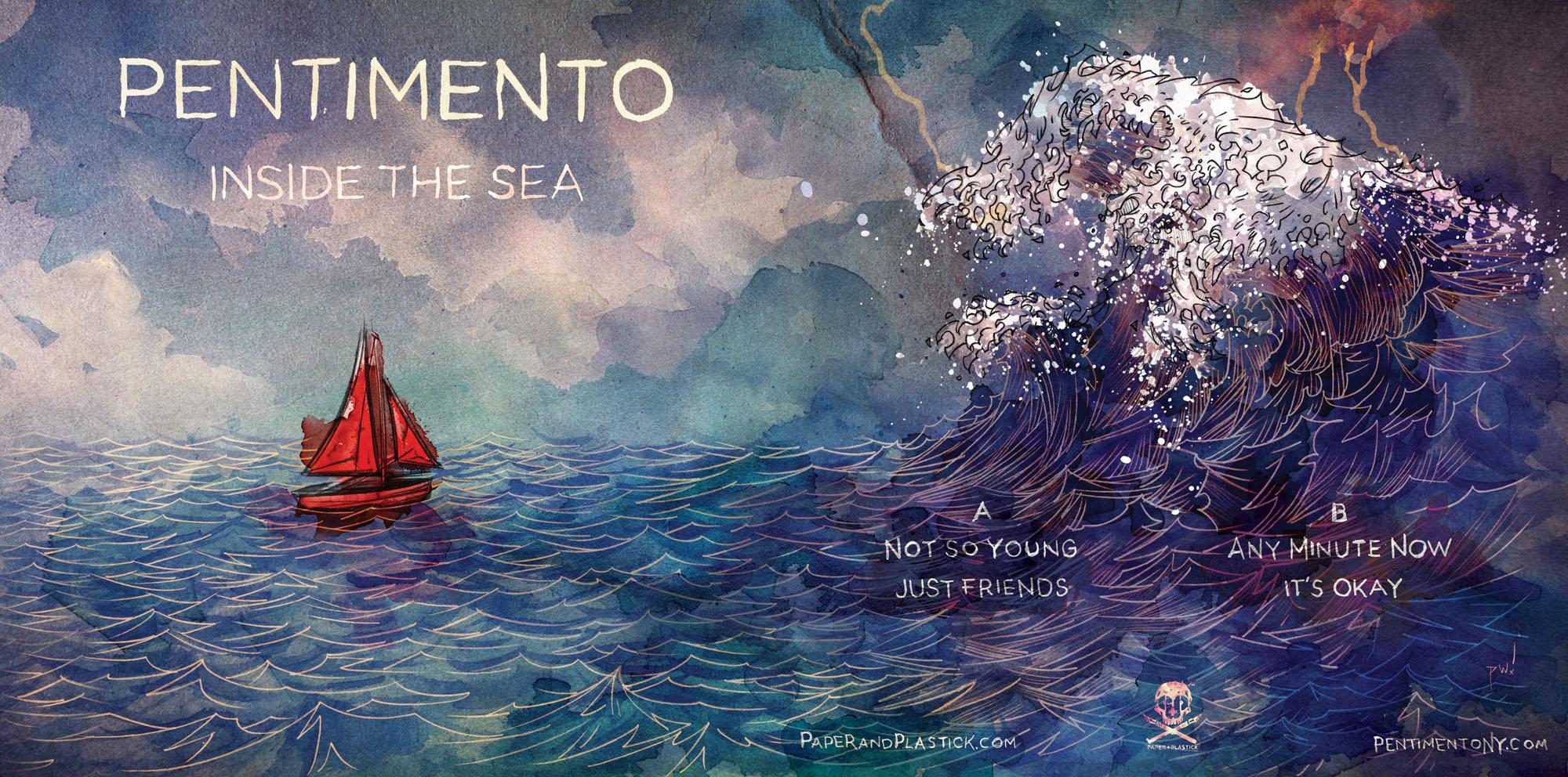 Pentimento - Inside The Sea