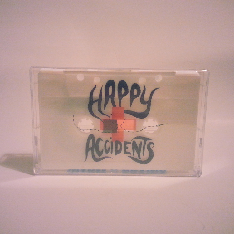 Warm Brains - Happy Accidents EP | Football Scarf/Cassette