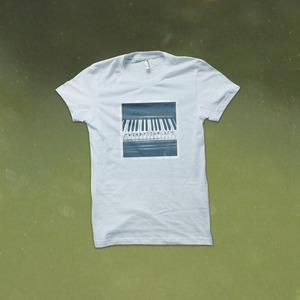 The World Is a Beautiful Place & I Am No Longer Afraid to Die - Space Piano T-Shirt