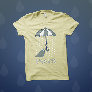 Prawn - Umbrella T-Shirt