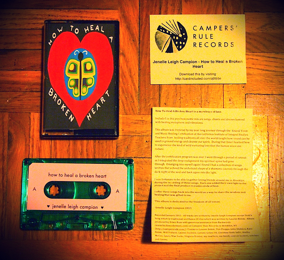 Campers' Rule Records - Jenelle Leigh Campion - How to Heal