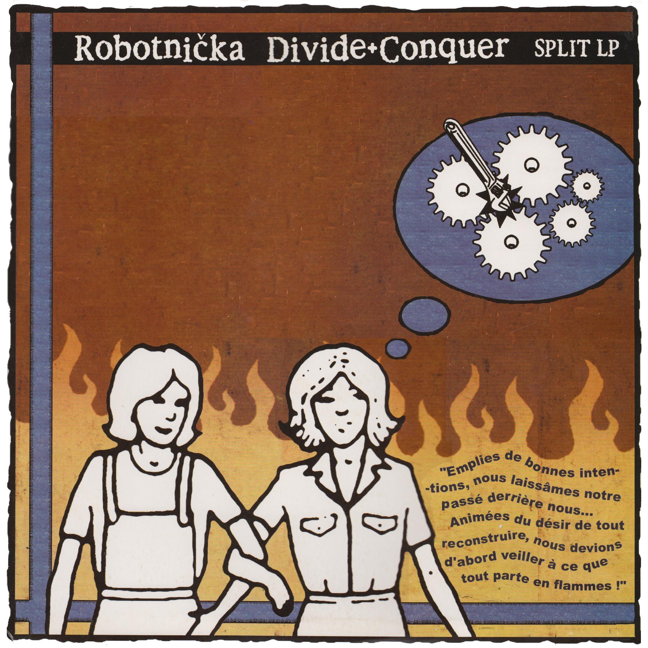 DIVIDE AND CONQUER / ROBOTNIKA split 12