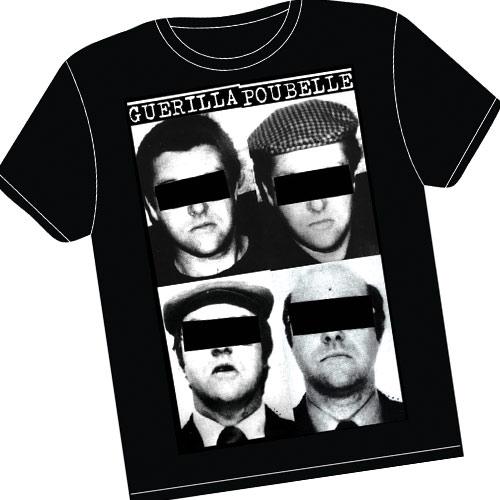 Guerilla Poubelle - tshirt Mesrine