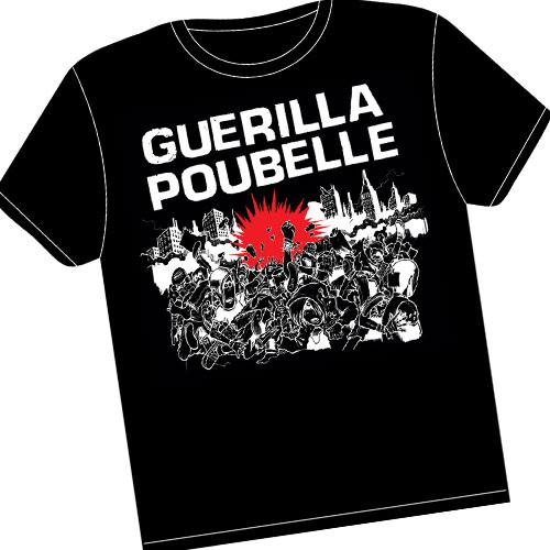 Guerilla poubelle - tshirt Attentat