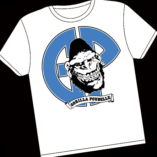 Guerilla Poubelle - tshirt Gorilla
