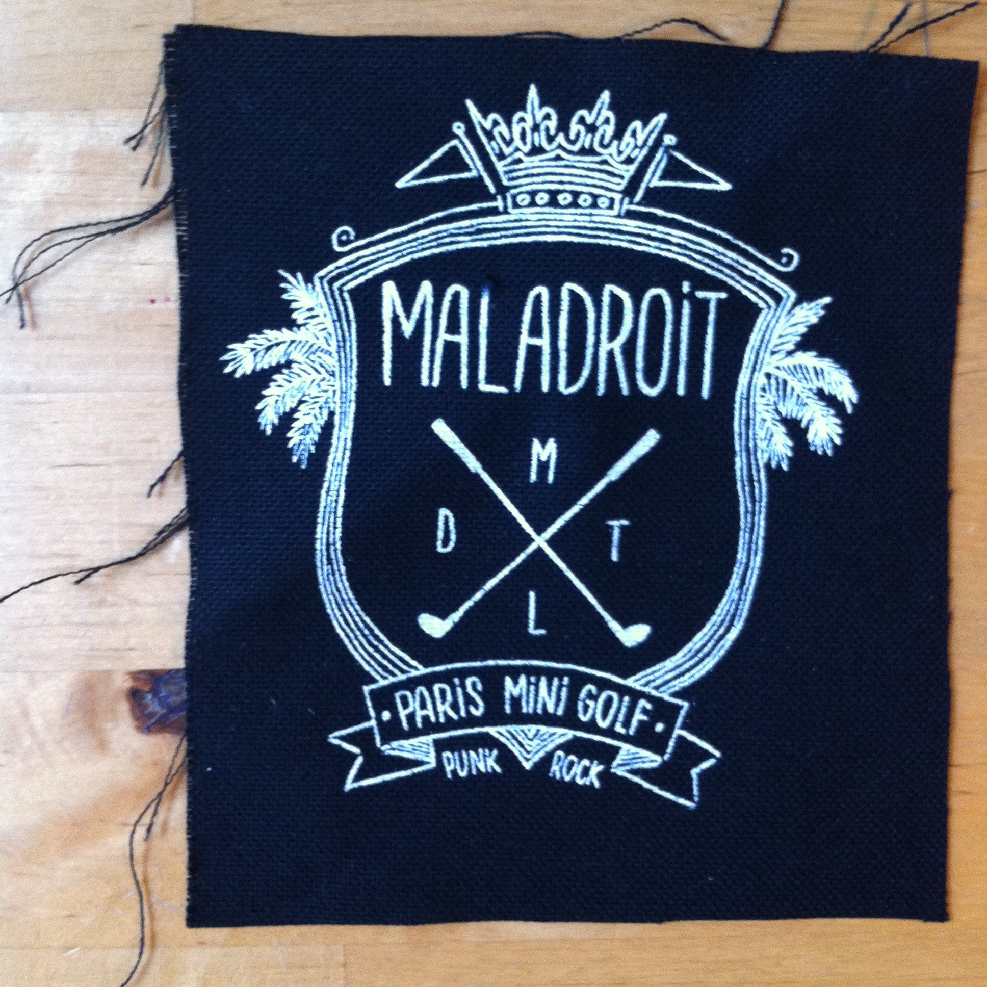 Maladroit - patch minigolf