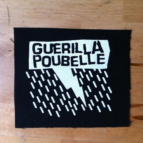 Guerilla Poubelle - patch pluie