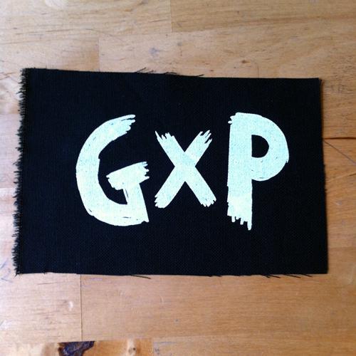Guerilla Poubelle - patch GXP