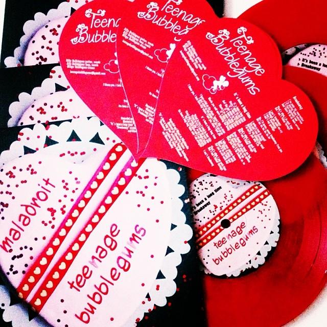 Maladroit + Teenage Bubblegums - Valentine's day split