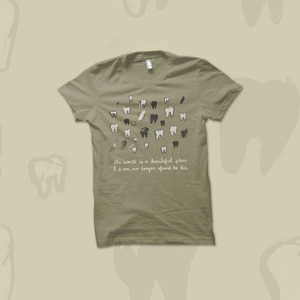 The World Is a Beautiful Place & I Am No Longer Afraid to Die - Teeth shirt