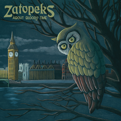Zatopeks - about bloody time