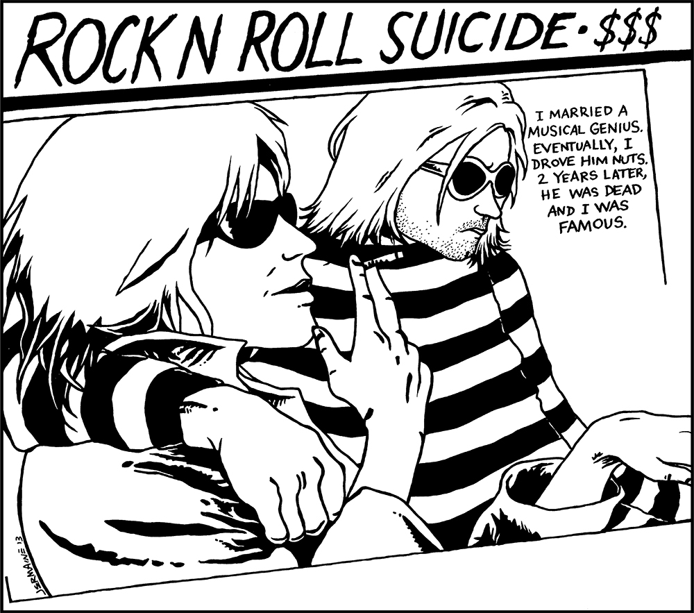 ROCK-N-ROLL SUICIDE T-Shirt