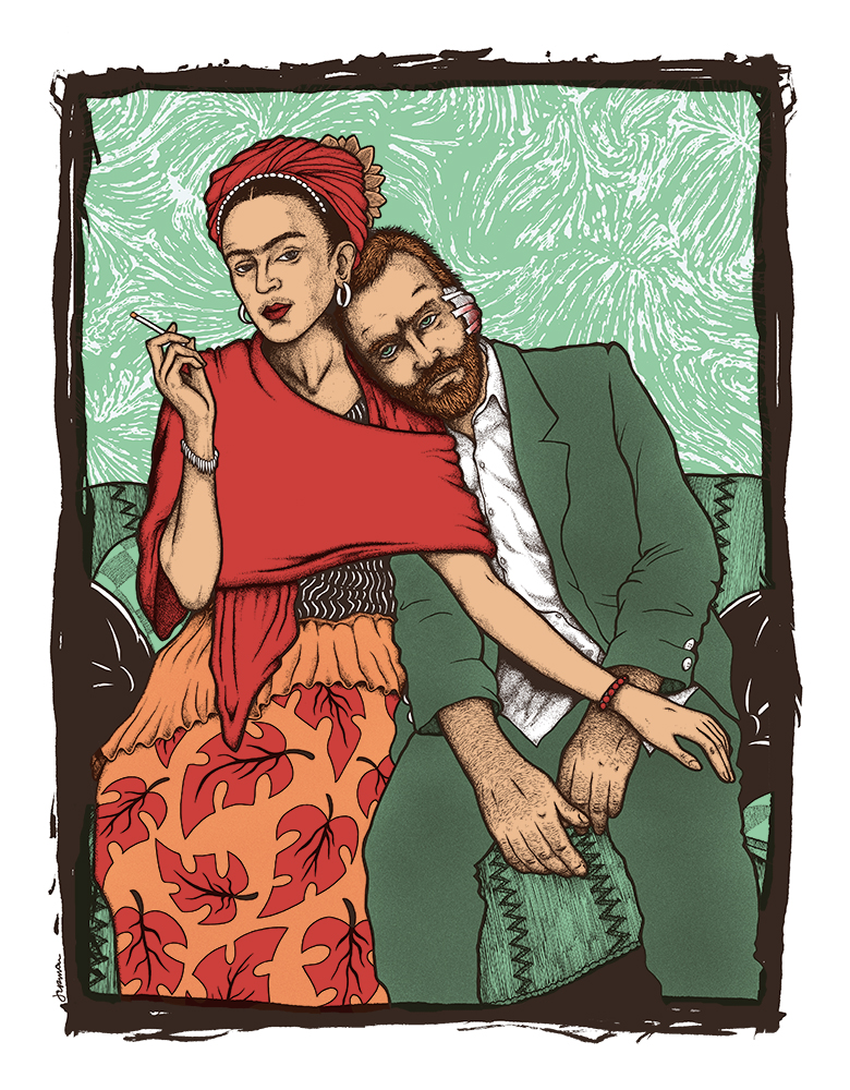 FRIDA & VINCENT T-Shirt ((WOMENS SIZES AVAILABLE!)