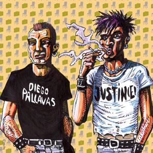 Diego Pallavas + Justine - split serie vol.2