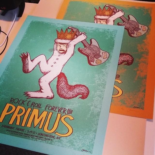 PRIMUS (Huntington, NY 2012) A/P's & VARIANTS