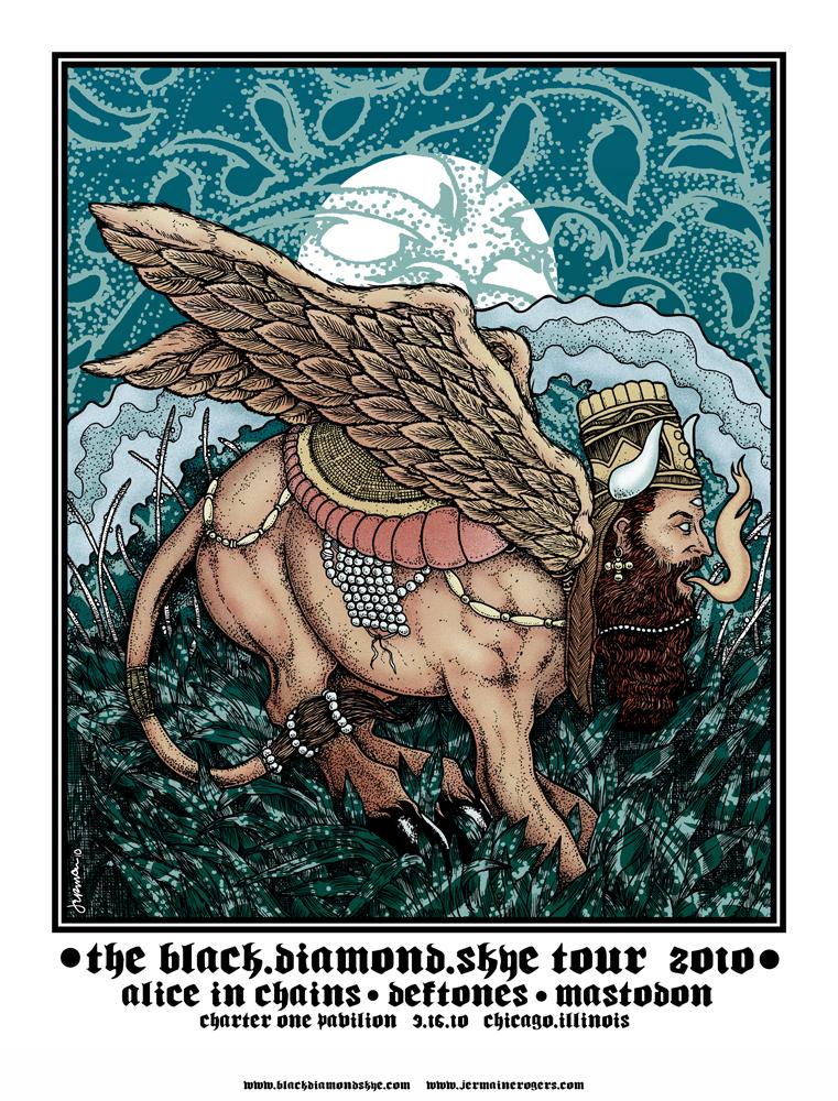 Alice In Chains / DEFTONES / Mastodon (Chicago) 2010