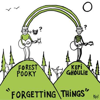Forest Pooky + Kepi Ghoulie - split