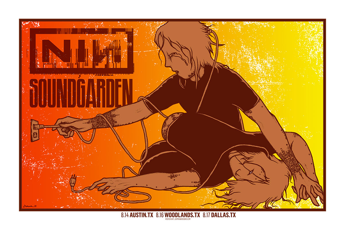 NINE INCH NAILS / Soundgarden (Texas 2014) SMALL AMOUNT OF STUDIO COPIES AVAILABLE