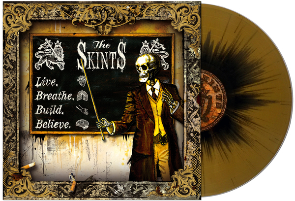 Bomber Music The Skints Live Breathe Build Believe