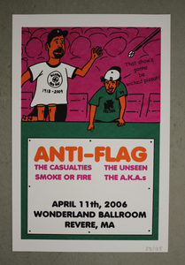 Anti-Flag - 04.11.2006 POSTER + MP3