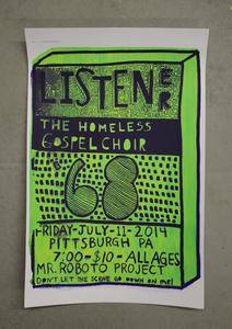 The Homeless Gospel Choir - POSTER + MP3