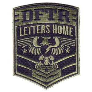 Defeater 'Letters Home' Embroidered Patch