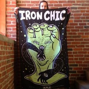 Iron Chic 'Hand' Banner
