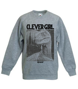 Alcopop! Clever Girl (Jurassic Park inspired) Sweatshirt