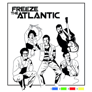 Freeze The Atlantic - Colour By Numbers EP CD (with Crayons)