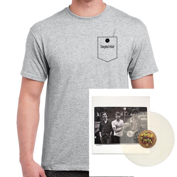 Tangled Hair - Pocket T-Shirt & LP Bundle